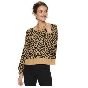 Apt 9 cheetah print top